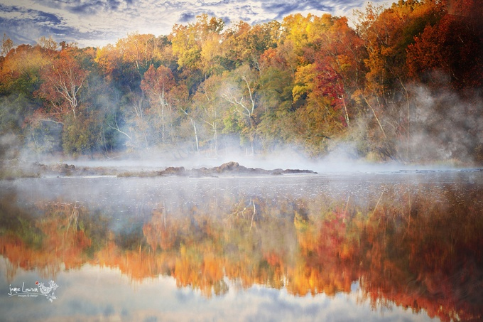 morning fog by JamieLawsonPhotography - Fall 2016 Photo Contest