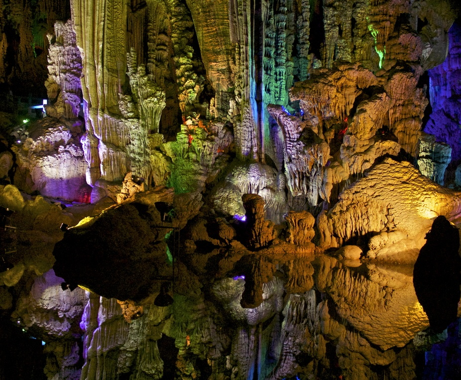 Silver cave in Chine