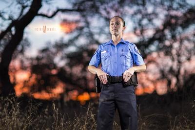 Napa Police Cadet Portrait