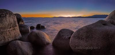 Lake Tahoe Twilight