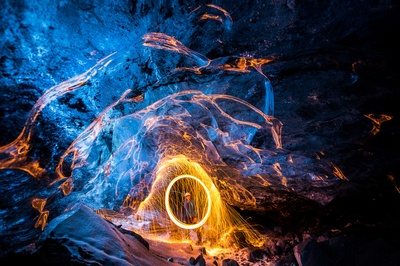 Ice Cave Iron Filings