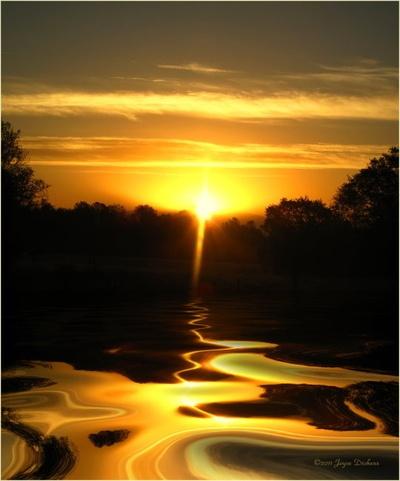 Mount Lassen Sunset Gold