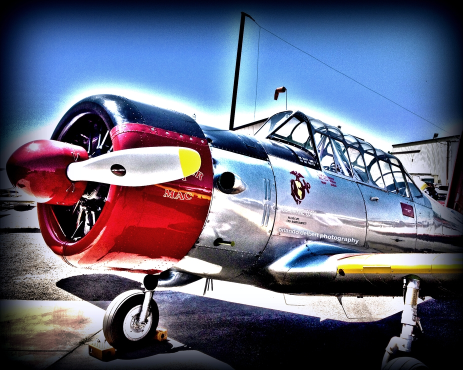 This was taken at the Warbirds Wings & Wheels 5 at the Estrella Warbirds Museum and Woodland ...