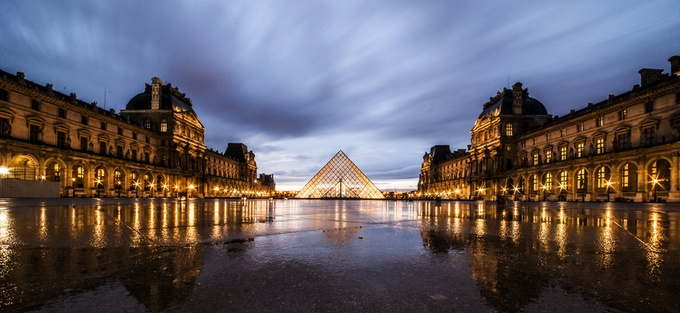 The Louvre by chriszhao - Classical Architecture Photo Contest