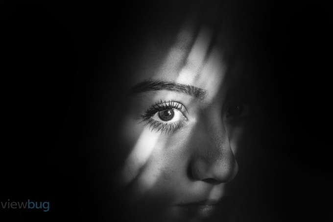 Dark Eye by Brandephoto - Shadows and People Photo Contest