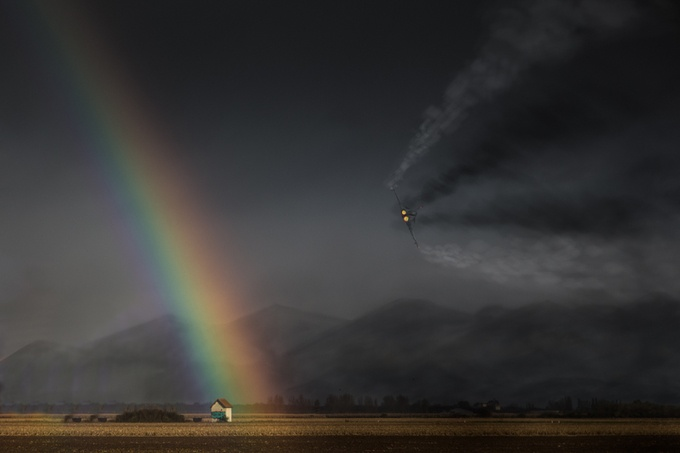 Rainbow Alsacien by oliverschael - Rainbows Overhead Photo Contest