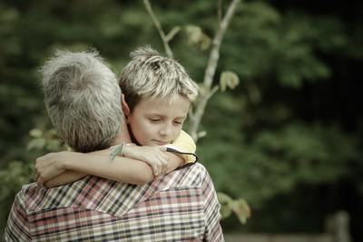 Un abrazo a papa