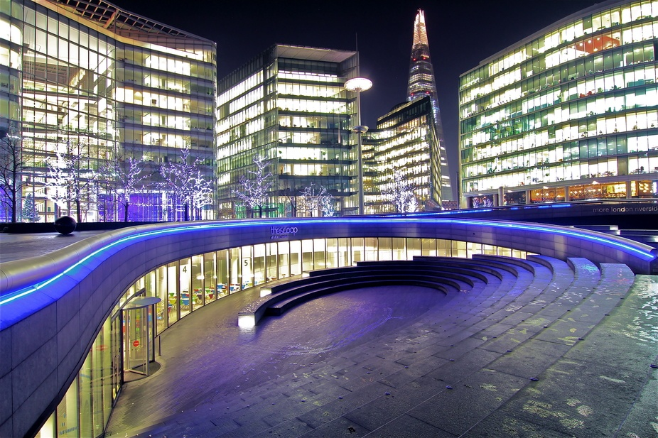 """TheScoop - More London Riverside - The Shard"" Photographer Felice Bellini London 9 december 2013"