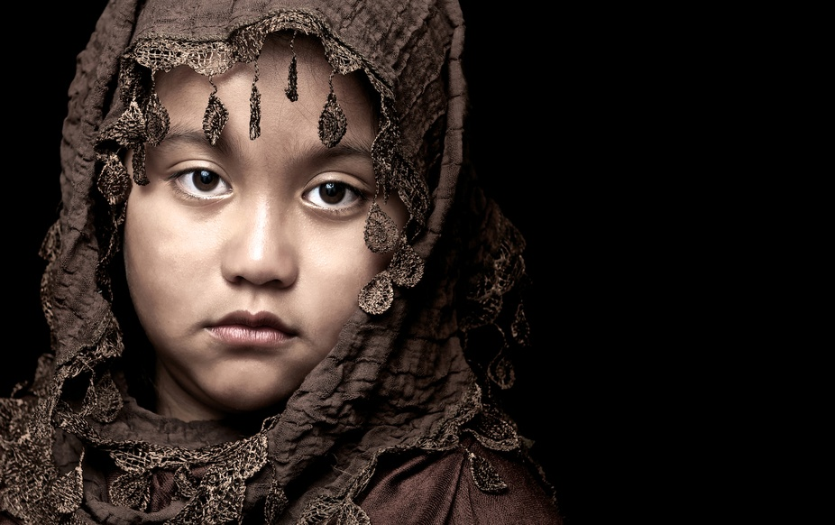 This is an inspired image dedicated to children torn in war zone countries who are deprived of ha...
