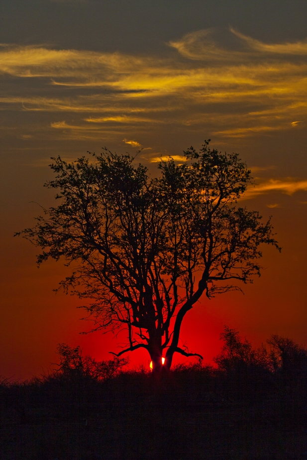 Sunset at Play Pan