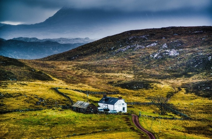 Scotland Xmas by stillmovingphotographs - Lost In The Field Photo Contest