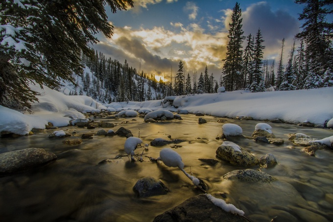 stanley creek by rcscharf - A Low Vantage Point Photo Contest