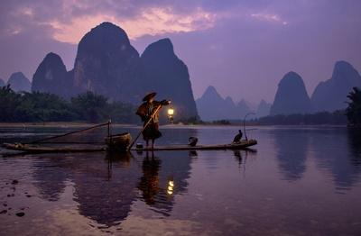 Cormorant Fishing on the Li River