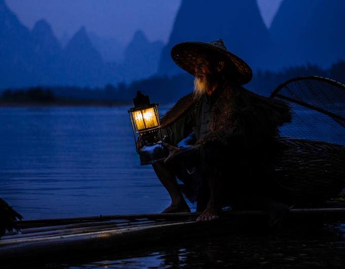 Old Fisherman by Alovaddin - Cultures of the World Photo Contest