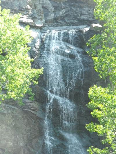 Waterfall in South Dakota