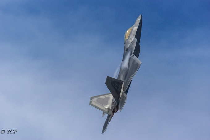 F-22 Raptor by TedCobbett - Composing with Negative Space Photo Contest