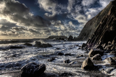 Winter Waves At Marloes Sands