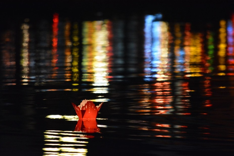 Lantern on the Hoi An river