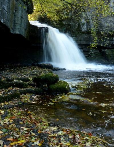 West Burton Falls, Yorkshire, UK