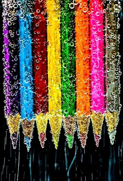 Bubbly Pencils