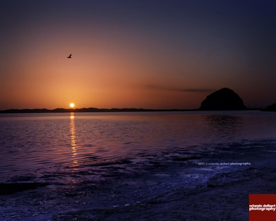 Birthday Sunset at Morro Bay