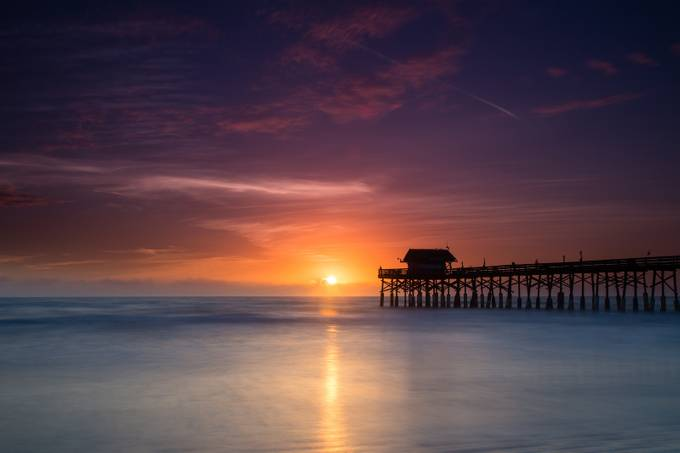 Cocoa Beach Pier-4 by jim_barbour - Light On Water Photo Contest