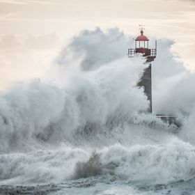 'Felgueiras' lighthouse in 'Foz do Douro' - Oporto - Portugal