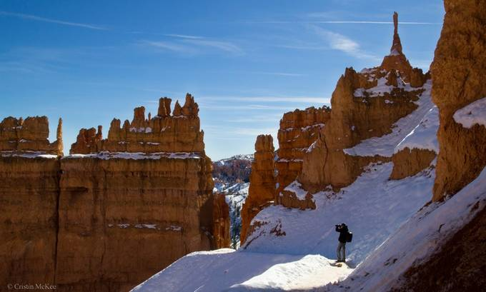 Bryce Photographer by cristinmckee - One With Nature Photo Contest