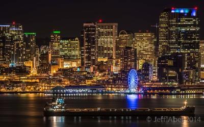 Elliott Bay & Downtown Seattle
