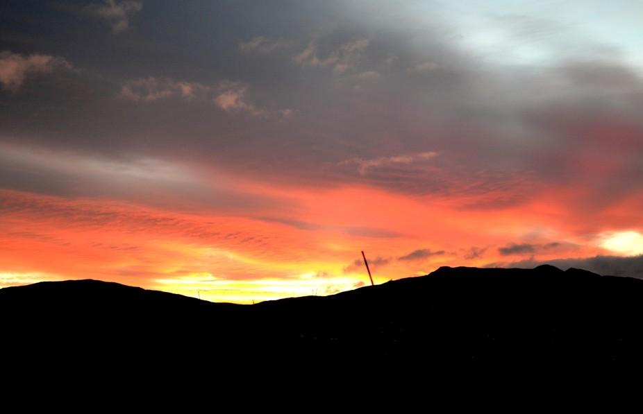 Sunrise over Trawsfyndd Wales