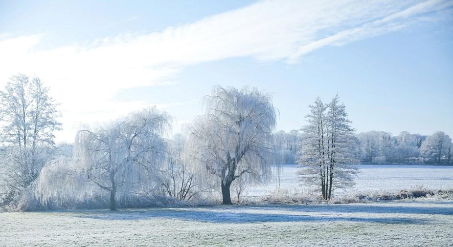 Winter in Linton, Cambridgeshire