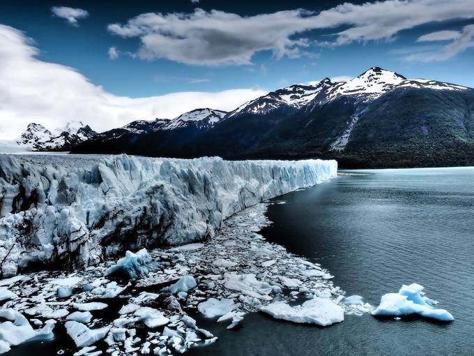 The Icy Face of the Perito Moreno Glacier by Cashman