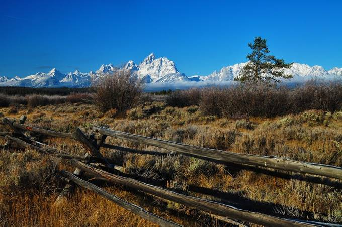 Approachihg Winter by BLPhotography - Rails and Fences Photo Contest