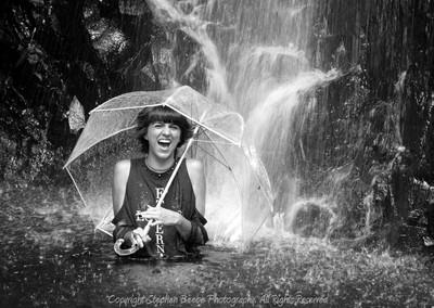 Waterfall Shoot w- Ashley