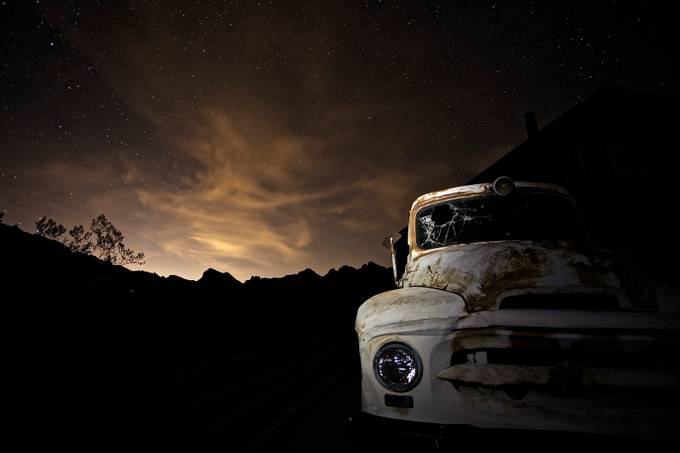 Ghost in the night by RJHPhoto - Dark And Bright Photo Contest