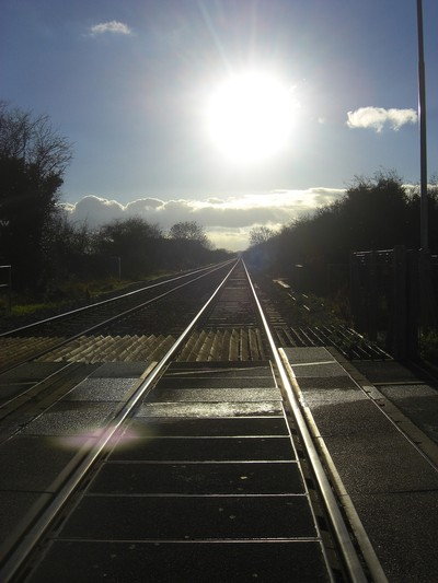 right side of the tracks?