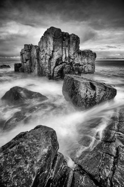 Rocks at Hopeman, Moray, Scotland