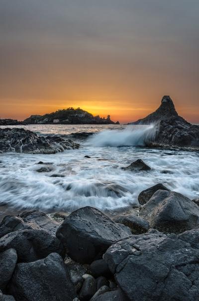Dawn in Acitrezza
