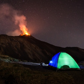 On the 26th October 2013, the volcano Etna began to erupt. I spent the whole night there with my cousin to film and photograph the eruption, to h...