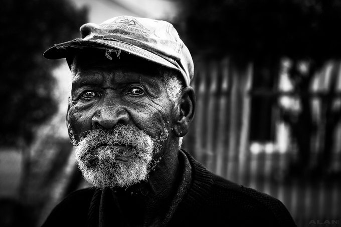 OLD MAN BW by Alannixon
