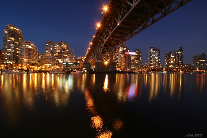 Granville Bridge, Vancouver, BC by kevinwest - Under The Bridge Photo Contest
