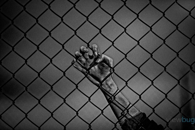 Captive-1 by SURREALIMAGE - Fences Photo Contest