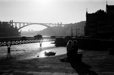 A couple in Porto