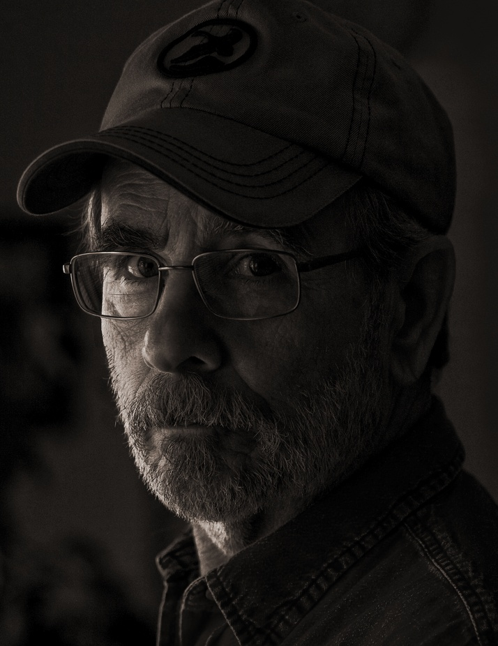 IMG_0088 Old Man by Window Light by Pinhole - Emerging From Shadows Photo Contest