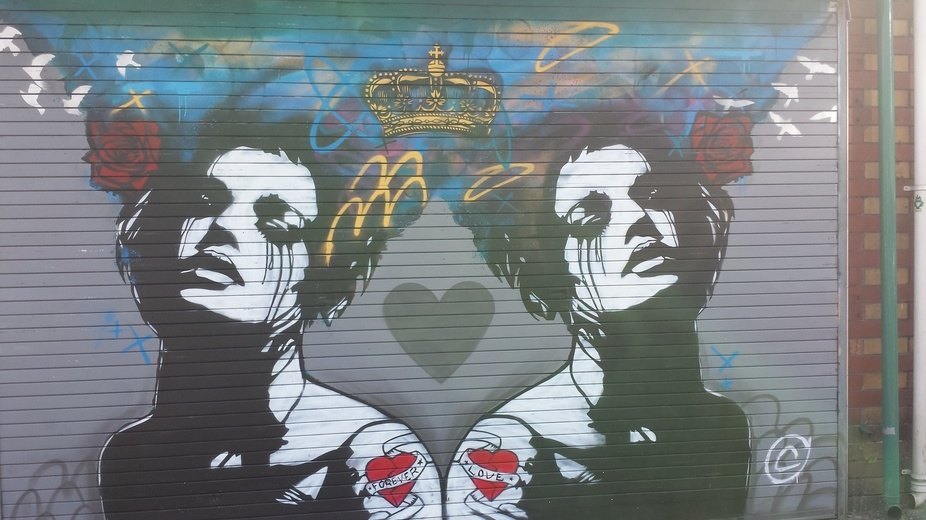 Pic of CopyRight\'s work in Bedminster Bristol