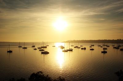Sunrise Geelong Harbour