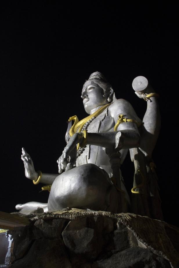 Giant Mahadev Statue at Murudeshwar