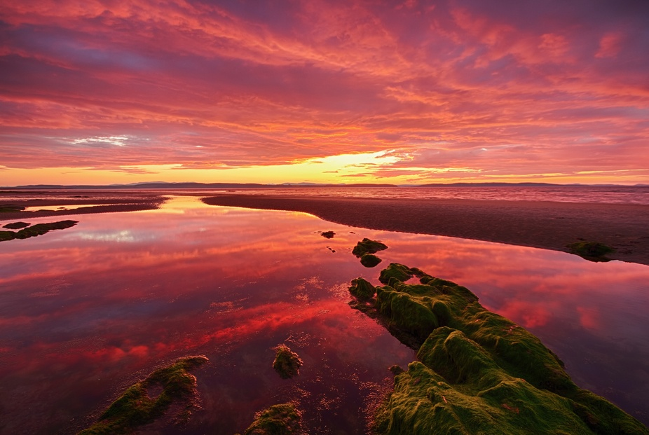 Sunset, Nairn Beach