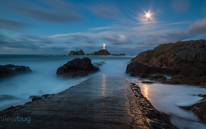 Corbiere By moonlite 1 by ybuhac - Moonlight Photo Contest