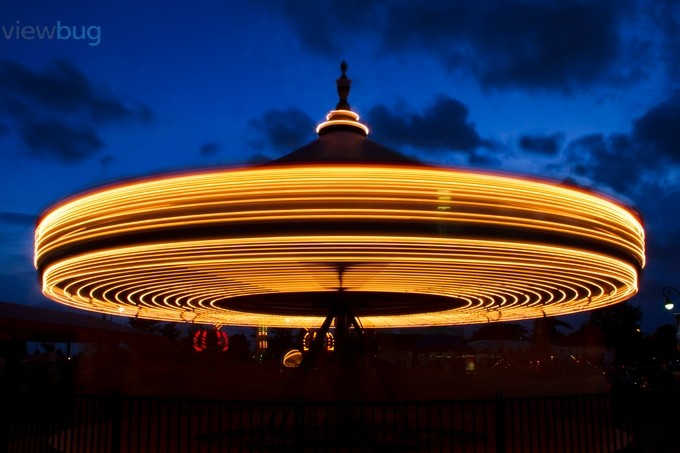 Carousel Time Lapse by KennethKeifer - Capture Motion Blur Photo Contest